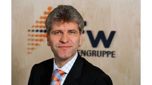 """Bernd Neumann, Direktor der KfW-Bankengruppe: """"Uns wurde bewusst, dass man nicht ohne IT leben kann, sehr wohl aber ohne eigene IT."""""""