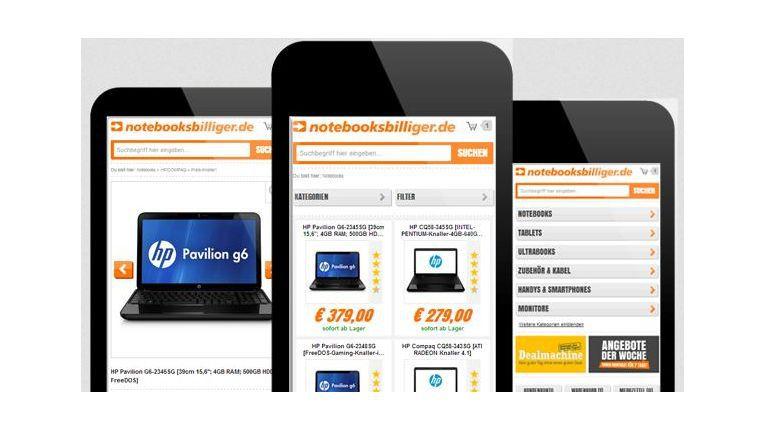 Notebooksbilliger.de will seinen Kunden den mobilen Einkauf noch angenehmer machen