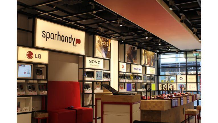 2013 eröffnete Sparhandy in Köln seinen ersten stationären Store