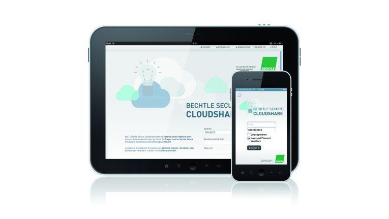 Die Cloudshare-Plattform (BSC) für File Sharing und Collaboration ist ein Beispiel für Bechtles wachsendes Cloud-Angebot.