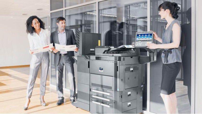 Neue Taskalfa DIN-A3-Systeme von Kyocera:Bis hin zum Finishing.