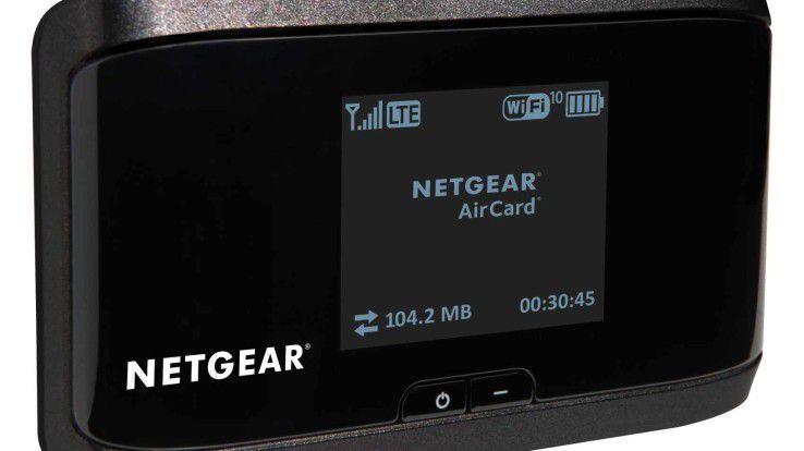 Netgear Air Card 4G LTE Hotspot: soll unkompliziert und schnell einzurichten sein.