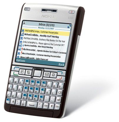Klassische E-Mail-Maschine aus dem Hause Nokia: Das E61i