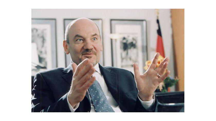 Zufrieden: Matthias Kurth, Präsident der Bundesnetzagentur.