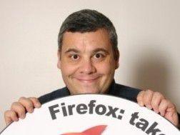 Der Browser muss einfach sein und Spaß machen - Tristan Nitot, Mozilla Europe.