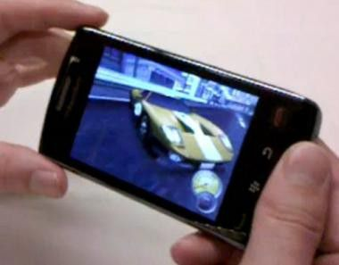 """Need for Speed"" auf dem Blackberry Storm 2"