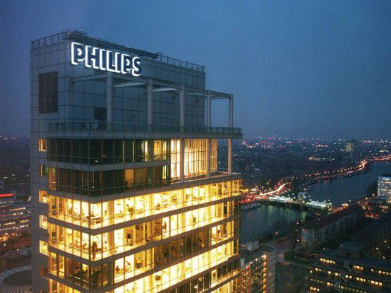 Die Philips-Zentrale in Amsterdam