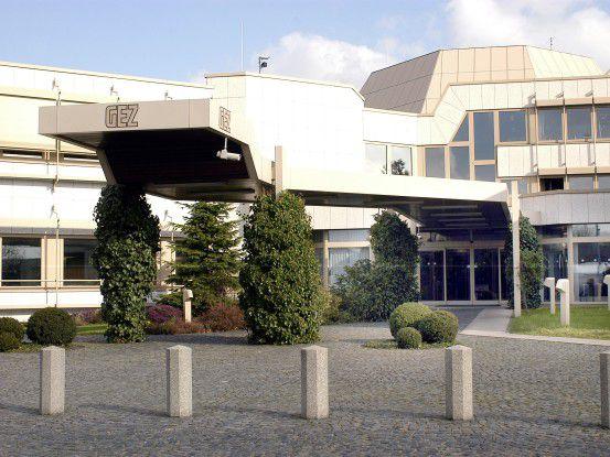 Die Zentrale der GEZ in Köln