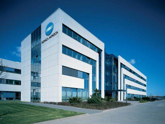 Konica-Minolta-Hauptsitz in Langenhagen bei Hannover