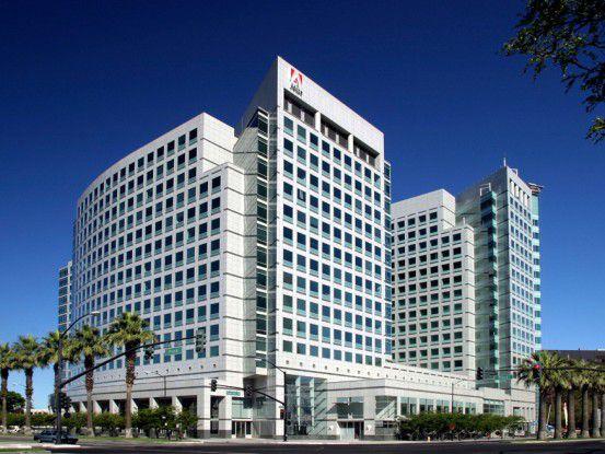 Die Adobe-Zentrale in San Jose, Kalifornien