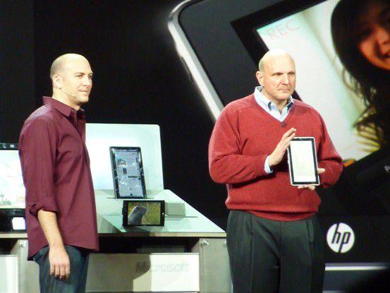 Steve Ballmer auf der CES im Januar 2010