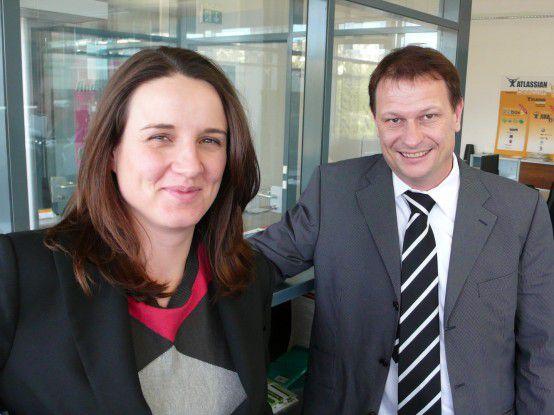 Kerstin Wagner und Andreas Ziltener sind Professoren und Unternehmensgründer.