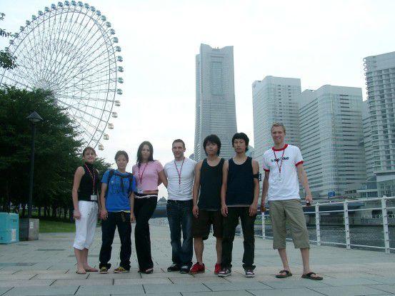 Smartrunner nannte sich die deutsche Studentengruppe, die in Yokohama zu den Preisträgern des Hightech-Wettbewerbs Imagine-Cup gehörte.