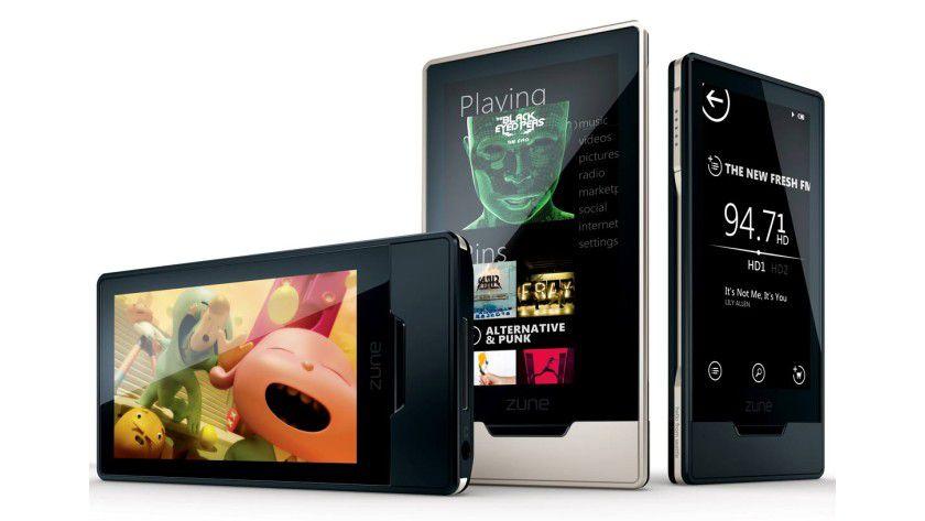 Zune am Ohr: Microsoft wird seine Zune-Reihe vermutlich bald um ein Handy erweitern.