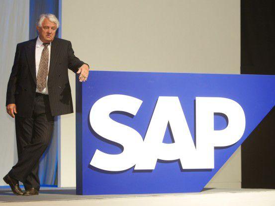 SAP-Mitgründer Hasso Plattner ist ein großer Fan von In-Memory-Datenbanken (IMDB).