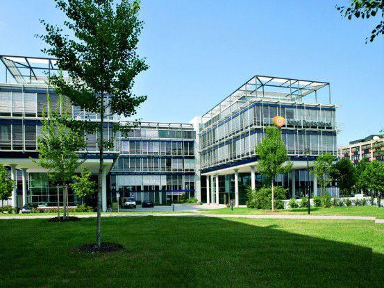 Die KDG-Zentrale in Unterföhring bei München