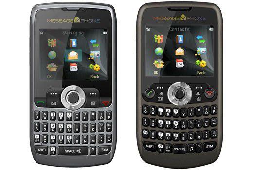 MessagePhone QS150 und QS200 mit Volltastatur und 2,2-Zoll-Farbdisplay