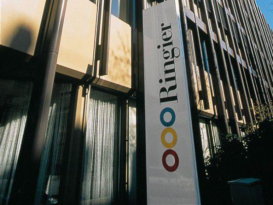 Die Zentrale der Ringier AG in Zürich