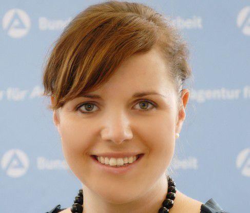 """Isabel Wolling, Arbeitsagentur Potsdam: """"Bewerber, die nicht auf dem Punkt kommen, haben keine Chance."""""""