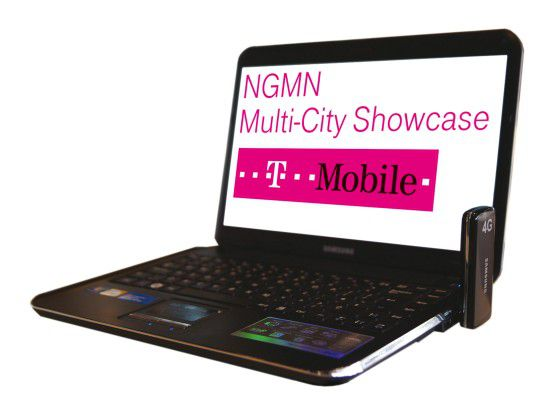 T-Mobile demonstriert in Barcelona bereits Mobilfunk der vierten Generation (LTE).