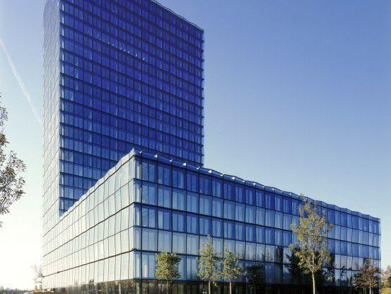 Der Neubau des Süddeutschen Verlags im Südosten Münchens