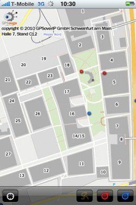Wo ist der nächste CeBIT-Bus? iPhone-Nutzer wissen mehr...