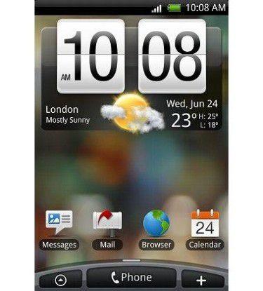 Die Benutzeroberfläche HTC Sense