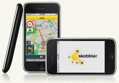 Skobbler für das iPhone: Neue Karten, Funktionen und ein Sonderpreis