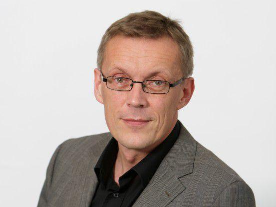 Heinrich Vaske, Chefredakteur der COMPUTERWOCHE.
