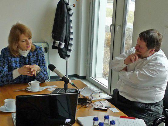 Natalya Kaspersky im Gespräch mit COMPUTERWOCHE Redakteur Jürgen Hill.