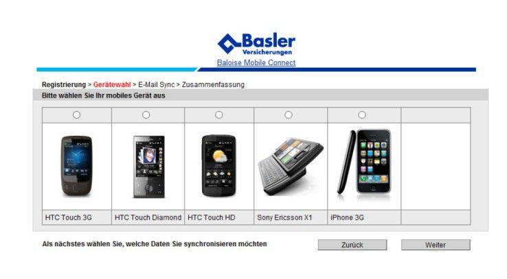 Die mobile Middleware von Sybase bindet gängige Smartphones ein.