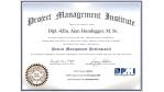Projekt-Management: Projektleiter müssen sich rezertifizieren - Foto: PMI-Zertifikat