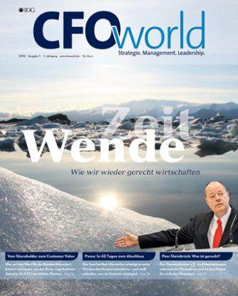 Die Printausgabe Nummer eins des CFOworld-Magazins.