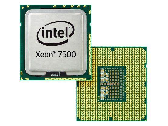 """Ein Server-Prozessor """"Xeon 7500"""" von Intel (Foto: Intel)"""
