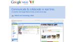 Google Wave: Das kann Googles Collaboration-Wunder