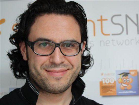 Ibrahim Tarlig gründete mit seinem Bruder Ugur das soziale Netzwerk studentSN.