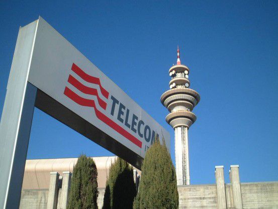 Die Zentrale der Telecom Italia