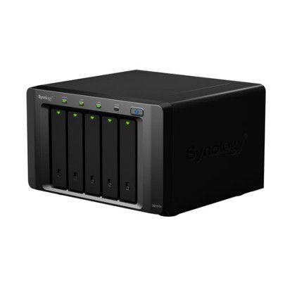 Mit bis zu 20 TB Speicher kann die Synology NAS ausgestattet werden.