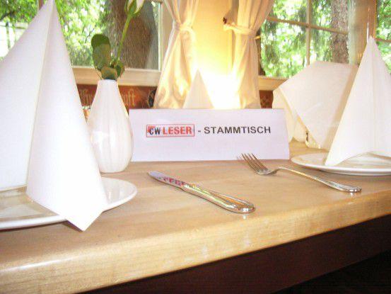 Diskussionen in entspannter Runde: Der erste CW-Leserstammtisch in München-Schwabing.