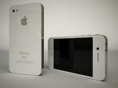 Das neue iPhone 4G - angeblich auch ganz in weiß erhältlich.