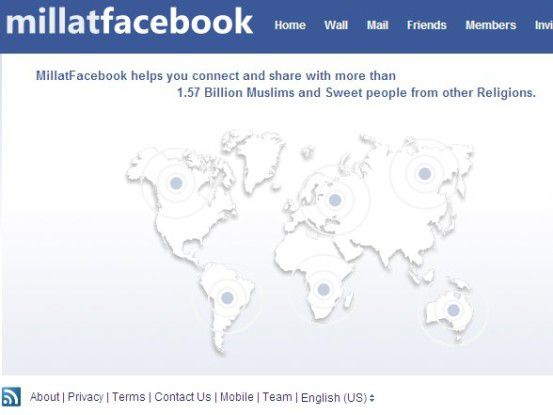 Millatfacebook helps you connect and share with more than 1,57 Billion Muslims and Sweet people from other Religions.
