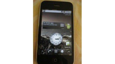 Best of two worlds?: Android 2.2 auf iPhone 3G installiert