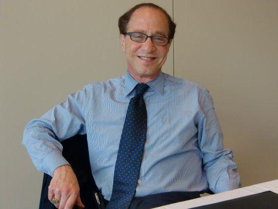 Ray Kurzweil war anlässlich des 4. Dresdner Zukunftsforums der T-Systems Multimedia Solutions in Deutschland.
