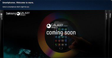 Coming soon: Samsung Galaxy Apollo