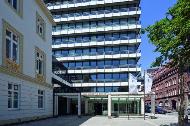 Die Berenberg Bank in Hamburg ist über 420 Jahre alt. Selbst die Kantine huldigt dem Gründerjahr 1590 mit seinem Namen.