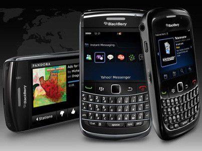 Die Blackberry App World. (Quelle: RIM)