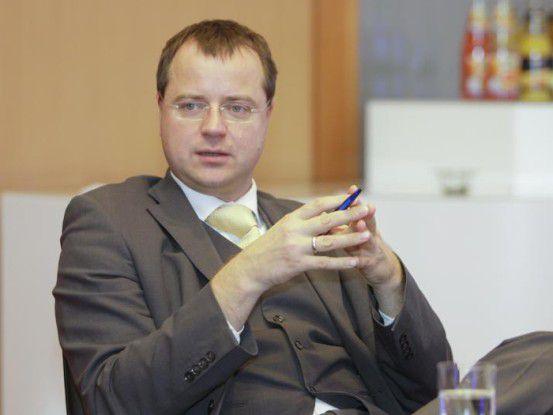 """Thomas Leitert, Mitinitiator des Wettbewerbs und CEO der Firma TimeKontor AG, sagt: """" Die Beiträge zeigen, dass Green IT längst nicht mehr nur ein Hype ist."""""""