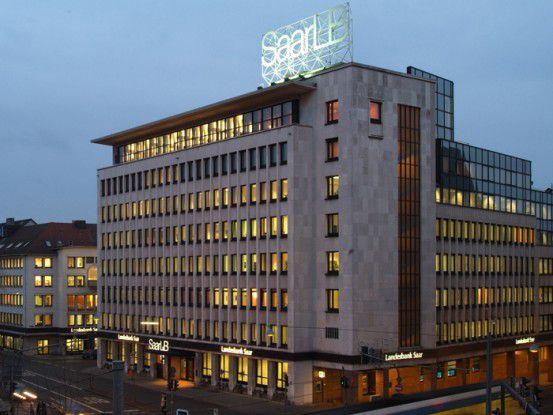SaarLB-Gebäude in Saarbrücken. Quelle: SaarLB