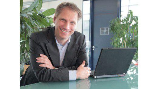 """""""Erwachsenen-Geschäft gehören auf die CeBIT"""", sagt CeBIT-Chef Frank Pörschmann."""