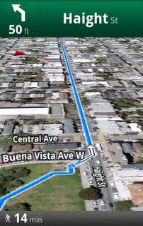 Nie wieder verirren: Google Maps kommt mit Fußgänger-Navi für Android.